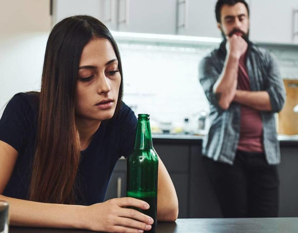 Что делать мужу, если жена пьёт